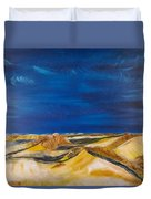 Winter Impression Of Sylt Duvet Cover