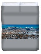 Winter In Arches National Park Duvet Cover