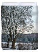 Winter In England, Uk Duvet Cover