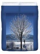 Winter In Innsbruck Duvet Cover
