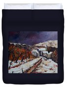 Winter In Luxembourg Duvet Cover