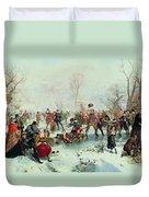 Winter In Saint James's Park Duvet Cover
