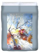 Winter In Spain Duvet Cover