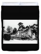 Winter In The Cotswolds Duvet Cover