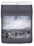 Winter In The Valley Duvet Cover
