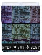 Winter Joy Duvet Cover