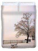Winter Landscape 1 Duvet Cover