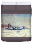 Winter Landscape 1885 Duvet Cover