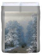 Winter Landscape Duvet Cover