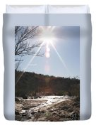 Winter Light Duvet Cover