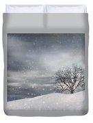 Winter Duvet Cover by Lourry Legarde