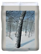 Winter Maple Duvet Cover
