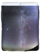 Winter Milky Way From New Mexico Duvet Cover
