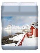 Winter Morning Duvet Cover