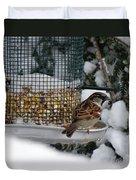 Winter Mornings Duvet Cover