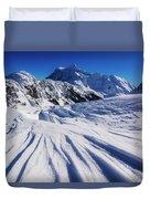Winter Mount Shuksan Duvet Cover