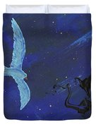 Winter Night Duvet Cover by Manuel Sueess