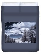 Winter On 89a Duvet Cover