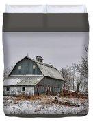 Winter On The Farm 2 Duvet Cover
