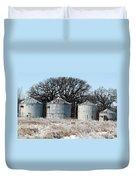 Winter On The Prairie Number 1 Duvet Cover