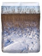 Winter On The Prairie Duvet Cover