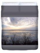Winter Pastels Duvet Cover