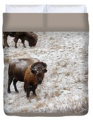 Winter Pasture Duvet Cover