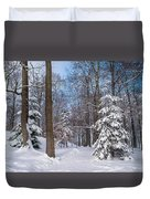 Winter Perfection Duvet Cover