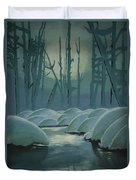 Winter Quiet Duvet Cover