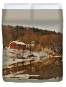 Winter Reflection 2 Duvet Cover