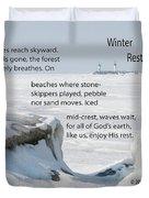 Winter Rest Duvet Cover
