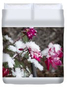 Winter Rose Duvet Cover