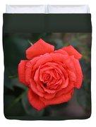 Winter Rose Duvet Cover