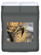 Winter Seed Pod Duvet Cover