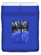 Winter Shadows Duvet Cover