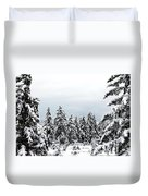 Winter Shangri-la Duvet Cover