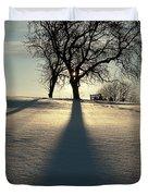 Winter Silhouette Duvet Cover
