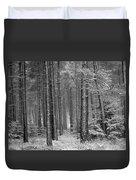 Winter, Slaley Woods Duvet Cover