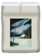 Winter Solitude Duvet Cover
