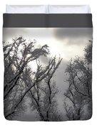 Winter Solstice Utah Duvet Cover