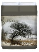 Winter Songs Duvet Cover