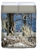 Winter Storm Ashley 2015 #2 Duvet Cover