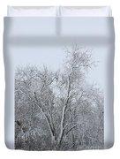 Winter Storm Duvet Cover