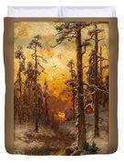Winter Sun Duvet Cover