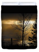Winter Sunrise 1 Duvet Cover