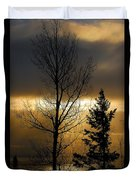 Winter Sunrise 2 Duvet Cover