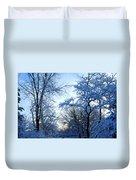 Winter Sunrise II Duvet Cover