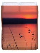 Winter Sunset I Duvet Cover