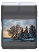 Winter Colors. Duvet Cover
