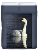 Winter Swan Duvet Cover
